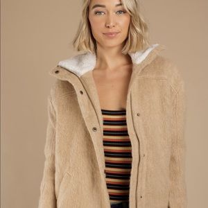 NWT Jacket with Sherpa